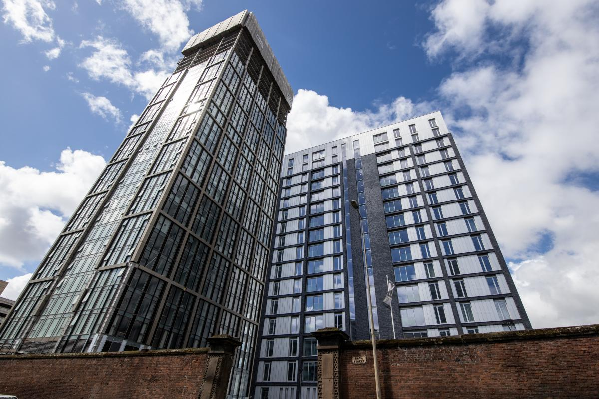 One and two bedroom apartments for private rent in the heart of Liverpool Waters development