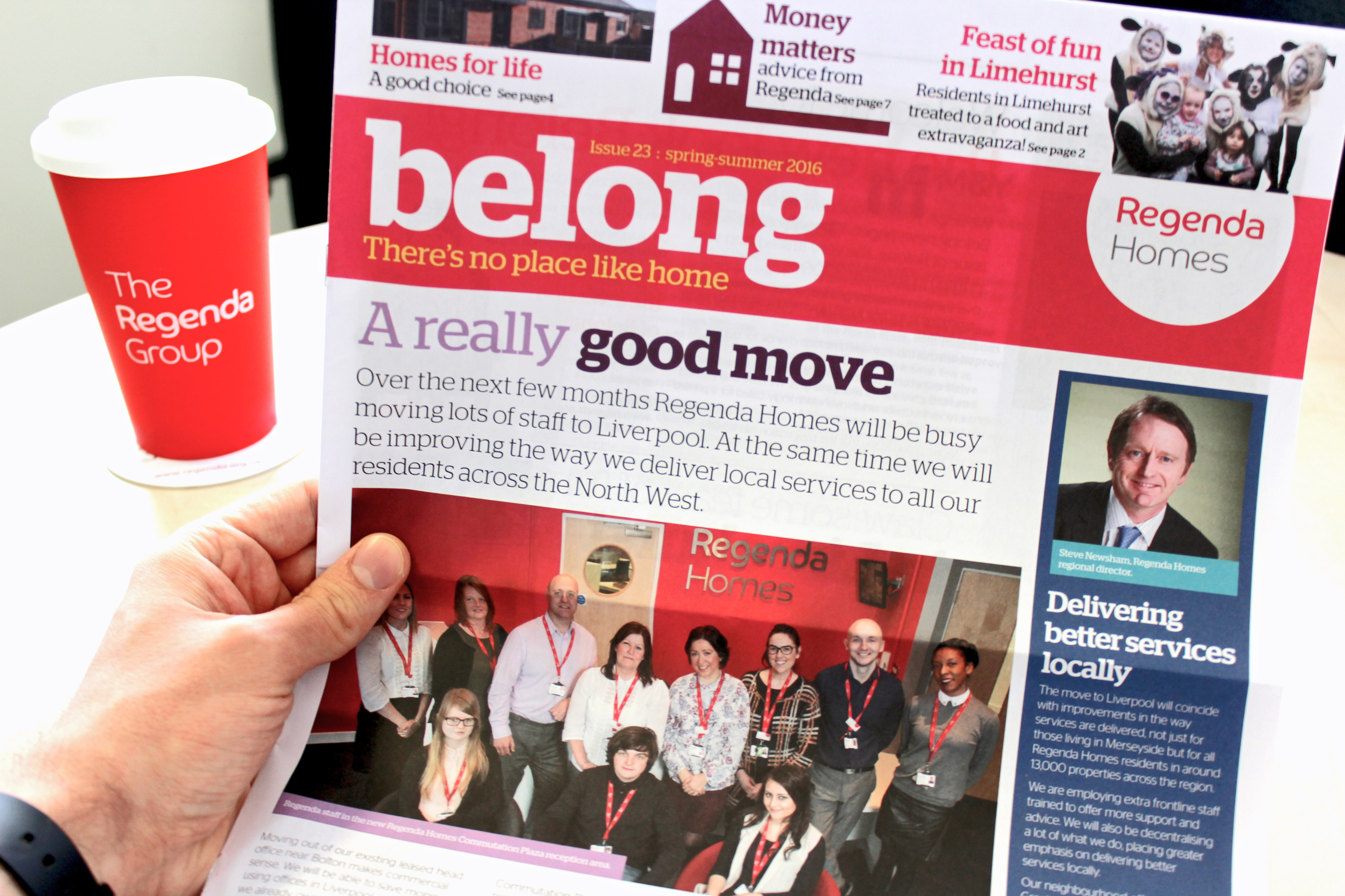 Belong 23 front page