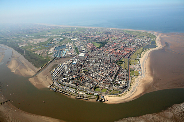 Aerial photo of Fleetwood