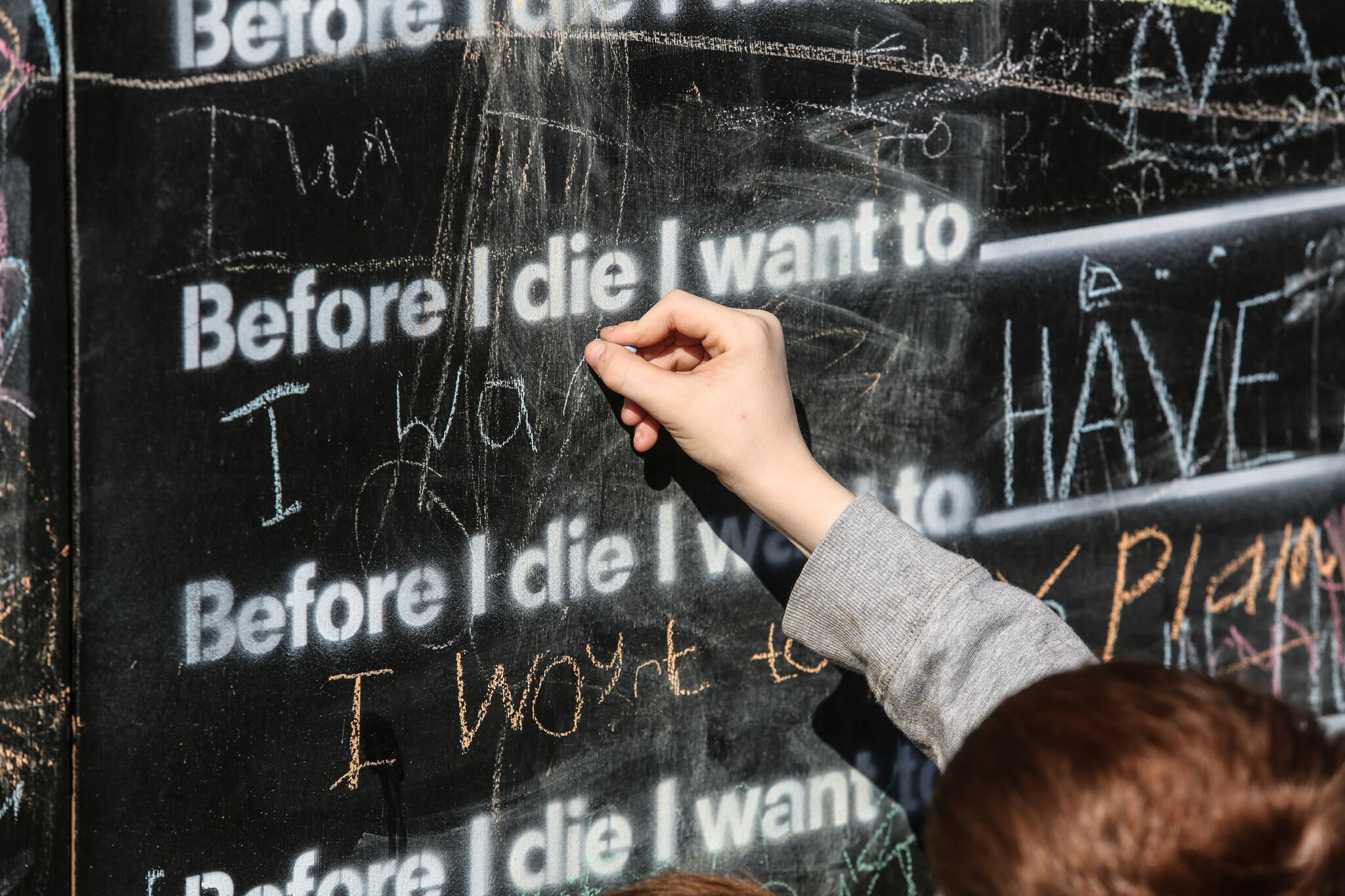 before I die arts project