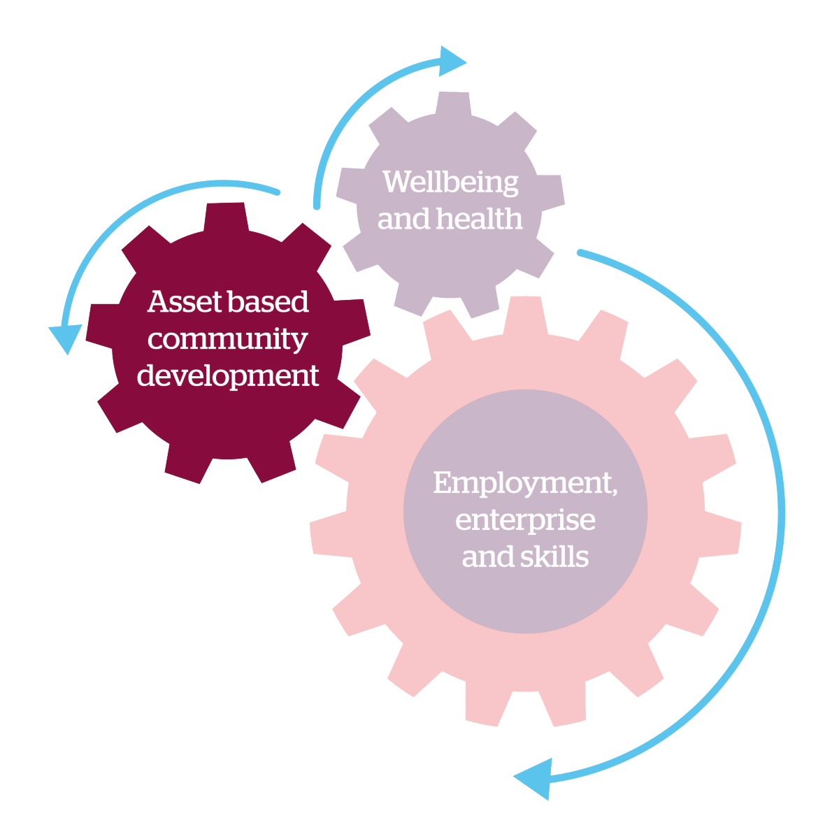 asset based community development cog diagram