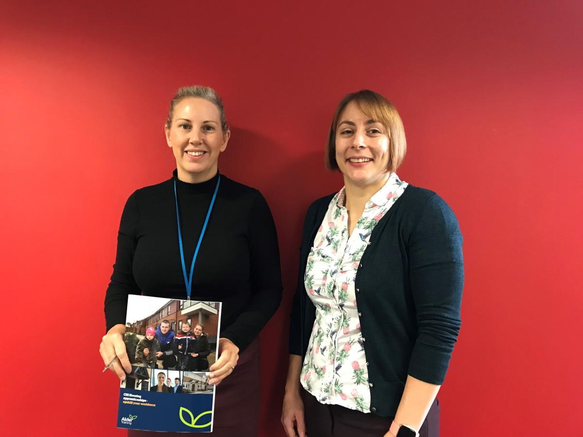 image-Kathryn Ash, Knowsley Housing Trust and Kirsty Rothwell, Alder Training.jpg