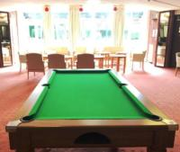 Maritime Park communal pool table